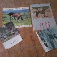 Coleccionismo: LOTE DE ANTIGUOS CALENDARIOS. Lote 47623494
