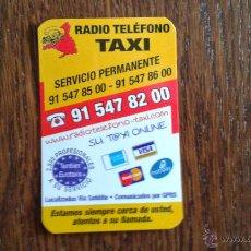 Coleccionismo: TARJETA DE RADIO TELÉFONO TAXI. Lote 47628032