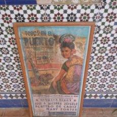 Coleccionismo: CARTEL DE TOROS. Lote 47645496