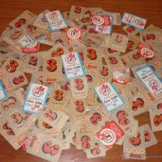 Coleccionismo: LOTE 200 CARTONES DE PUNTOS ELENA - ELENIL - CORAL. Lote 53054271