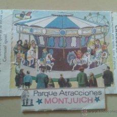 Coleccionismo: VALE CARRUSEL GIGANTE PARQUE ATRACCIONES MONTJUICH - 1967. Lote 48108913