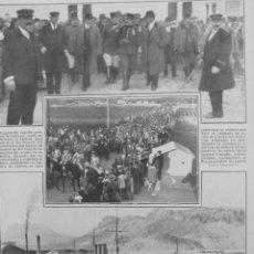 Coleccionismo: (1910-1919). DIQUE CARTAGENA-CULLERA REOS CONDE SERRALLO MISA CASTILLO-HOSPITAL MELILLA-KAID BUXDA. Lote 48312705