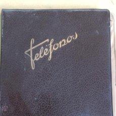Coleccionismo: GUIA DE TELEFONOS ANTIGUA DE OFICINA EN CARTONE. Lote 48339543