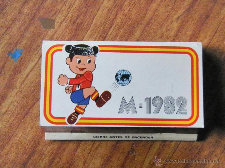 Coleccionismo: CAJA CERILLAS MUNDIAL 82 PARRILLA GAUCHO FIERRO - Foto 5 - 48453961