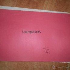 Coleccionismo: DOCUMENTOS ANTIGUOS CORRESPONSALES COTEMAR TRANSPORTES ALHAMBRA SA CUART POBLET VALENCIA ALICANTE. Lote 48523178