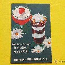 Coleccionismo: RIERA MARSA CATALOGO DE 8 PAGINAS BUEN ESTADO. Lote 48537422