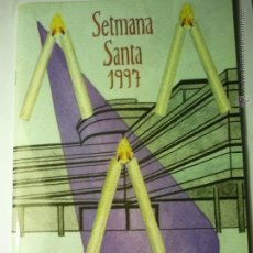 Coleccionismo: PROGRAMA SEMANA SANTA TARRAGONA.-COFRADIA LA SALLE.-CATALAN 1997--BB. Lote 48680696