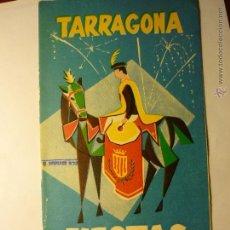 Coleccionismo: PROGRAMA FIESTAS SAN MAGIN TARRAGONA 1966-20 PAG. -EDIC.PUBLICIDAD GIMENO-BB. Lote 48680699