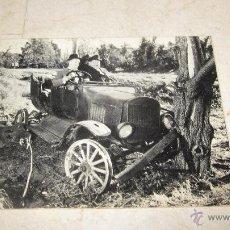 Coleccionismo: FOTO POSTAL CON TEXTO EN INGLES - STAN LAUREL Y OLIVER HARDY ( EL GORDO Y EL FLACO). Lote 48861811