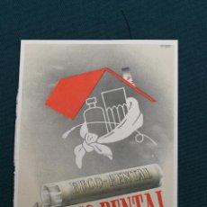 Coleccionismo: PUBLICIDAD ANTIGUA FARMACEUTICA BUCO-PENTAL, ESPLUGAS BARCELONA. Lote 48864072