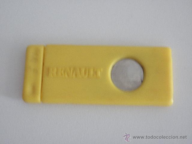Coleccionismo: Antiguo cortapuros de bolsillo Renault - Foto 2 - 48980739