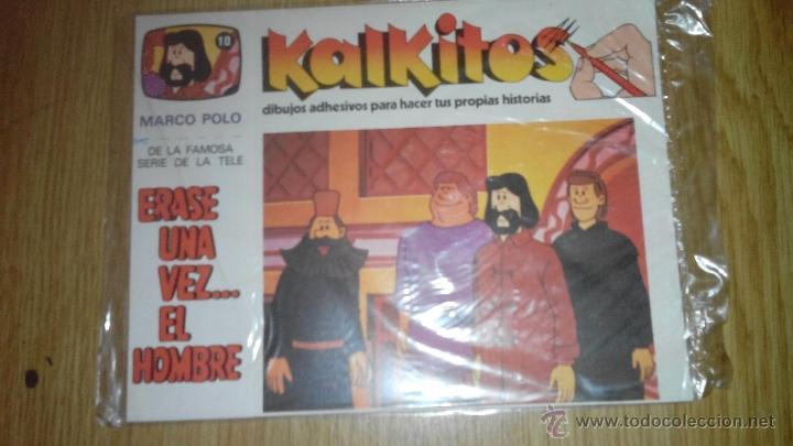 KALKITOS - ERASE UNA VEZ...EL HOMBRE - NUMERO 10 (Coleccionismo - Laminas, Programas y Otros Documentos)
