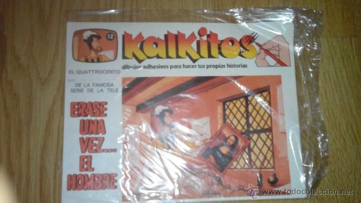 KALKITOS - ERASE UNA VEZ...EL HOMBRE - NUMERO 12 (Coleccionismo - Laminas, Programas y Otros Documentos)