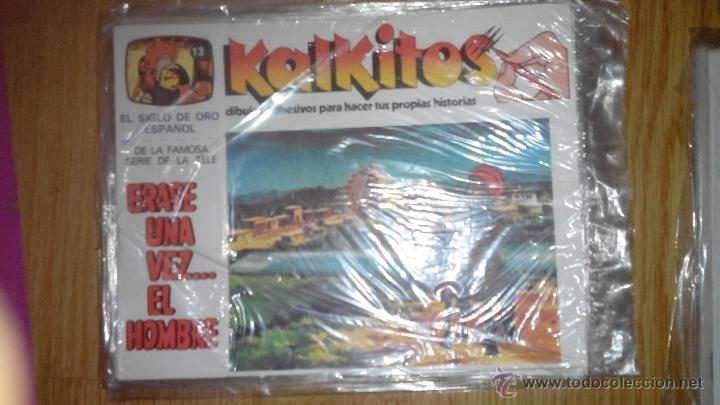 KALKITOS - ERASE UNA VEZ...EL HOMBRE - NUMERO 13 (Coleccionismo - Laminas, Programas y Otros Documentos)