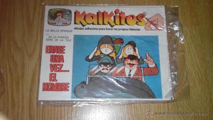 KALKITOS - ERASE UNA VEZ...EL HOMBRE - NUMERO 22 (Coleccionismo - Laminas, Programas y Otros Documentos)