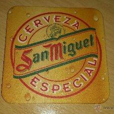 Coleccionismo: POSAVASOS CERVEZA SAN MIGUEL. Lote 49105966