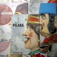 Coleccionismo: COLECCION FOLLETOS CABEZUDOS Y GIGANTES DE ZARAGOZA FIESTAS DEL PILAR. Lote 49169551