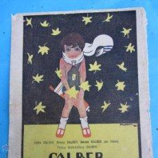 Coleccionismo: RETAL HOJA DE REVISTA 1921 , PROPAGANDA CALBER. Lote 49169819