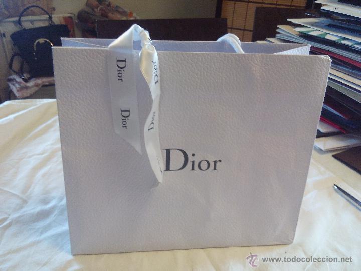 858d7b36edf Bolsa de papel dior. original. con lazo de dior - Vendido en Venta ...