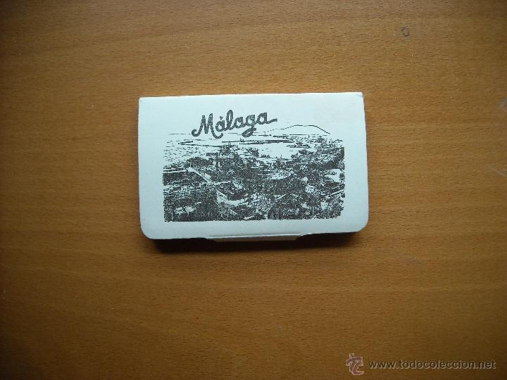 MÄLAGA, Nº 3. 12 VISTAS 8,5 X 5.5 C(M. GARCIA GARABELLA Y CIA.ZARAGOZA.FOTOGRAFIAS (Coleccionismo - Laminas, Programas y Otros Documentos)