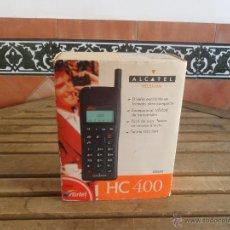 Coleccionismo: ANTIGUO TELEFONO MOVIL ALCATEL HC 400 DE LA COMPAÑIA AIRTEL EN CAJA Y CON INSTRUCCIONES. Lote 49304481