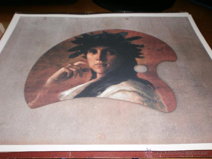 Coleccionismo: CARPETA DE 52 LÁMINAS - OBRAS MAESTRAS DEL SIGLO XIX. MUSEO DE BELLAS ARTES DE MÁLAGA - SUR, 2003. - Foto 2 - 49349335