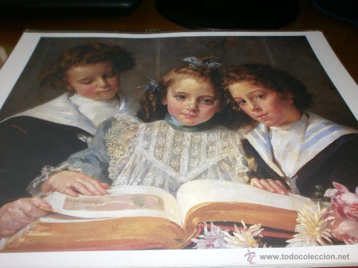 Coleccionismo: CARPETA DE 52 LÁMINAS - OBRAS MAESTRAS DEL SIGLO XIX. MUSEO DE BELLAS ARTES DE MÁLAGA - SUR, 2003. - Foto 3 - 49349335