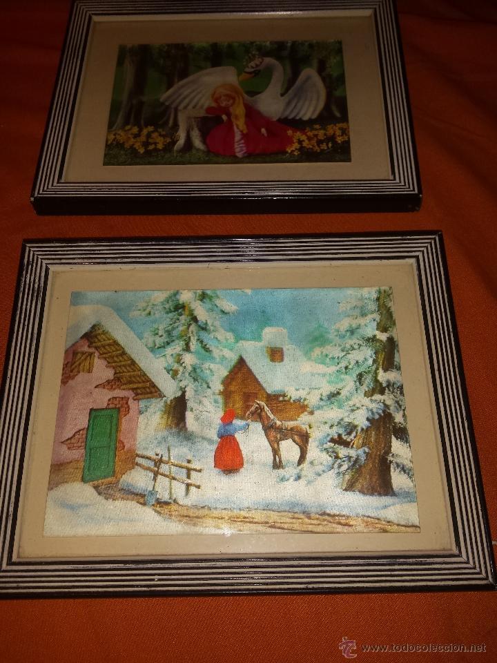 pareja cuadros antiguos con tarjetas holografas - Comprar en ...