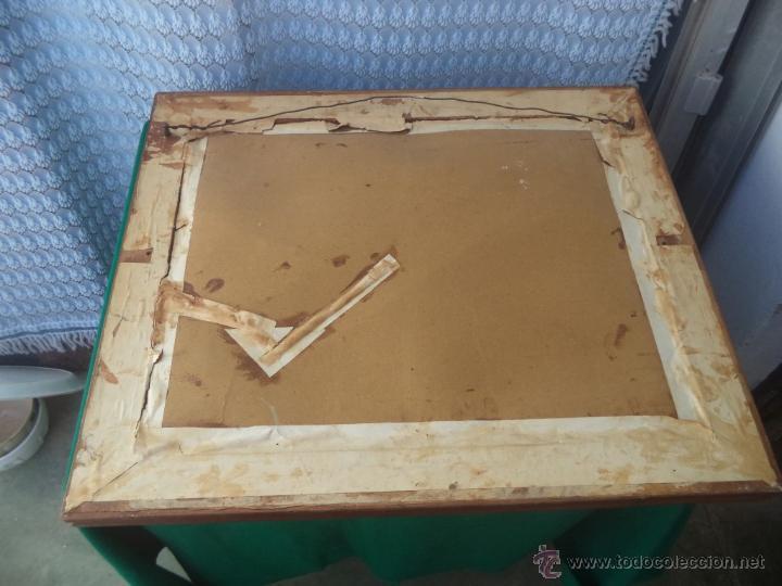 Coleccionismo: lamina antigua imitacion a azulejos - Foto 3 - 49398170