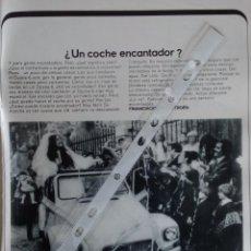 Coleccionismo: PUBLICIDAD AUTOMOVIL CITROEN DYANE 6 DE 1971. Lote 96950226