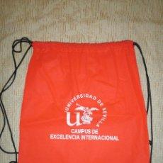 Coleccionismo: BOLSA MOCHILA PROPAGANDA UNIVERSIDAD DE SEVILLA CAMPUS DE EXCELENCIA INTERNACIONAL. Lote 49431235