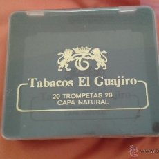 Coleccionismo: . CAJA DE TABACO PLASTICO EL GUAJIRO . Lote 49488750