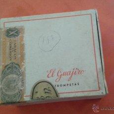 Coleccionismo: . CAJA DE TABACO MADERA EL GUAJIRO . Lote 49552277