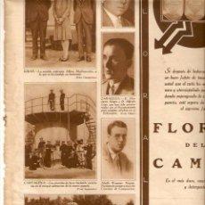 Coleccionismo: AÑO 1928 RECORTE PRENSA SABADELL CONGRESO PRENSA CATALANO BALEAR TOLEDO CIRCO ROMANO ARQUELOGIA. Lote 49565904