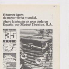 Collezionismo: PUBLICIDAD TRACTOR EBRO M F. Lote 49573498