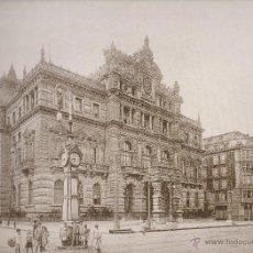 Coleccionismo: LAMINA IMAGENES INOLVIDABLES BIZKAIA / VIZCAYA 1890/1937 EL PALACIO DE LA DIPUTACION Y LA GRAN VIA. Lote 49641607
