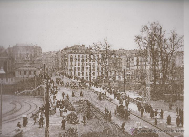 LAMINA IMAGENES INOLVIDABLES BIZKAIA / VIZCAYA 1890/1937 EL PUENTE DEL ARENAL BILBAO (Coleccionismo - Laminas, Programas y Otros Documentos)