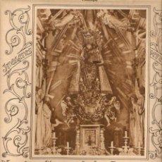 Coleccionismo: AÑO 1928 RECORTE PRENSA NUESTRA SEÑORA DE LOS DESAMPARADOS PATRONA DE VALENCIA VIRGEN RELIGION. Lote 49763515