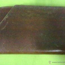 Coleccionismo: PETACA PITILLERA CUERO CIGARRERA. Lote 49913802