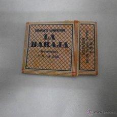 Coleccionismo: SOBRE COLORANTE ALIMENTARIO LA BARAJA CARTA 1 DE COPAS. Lote 49923535