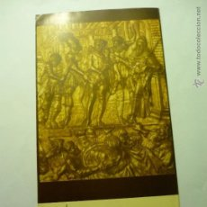Coleccionismo: PROGRAMA DESPLEGABLE SEMANA SANTA TARRAGONA 1960 ¡¡COMPLETO CON ANEXO¡¡. Lote 49971346