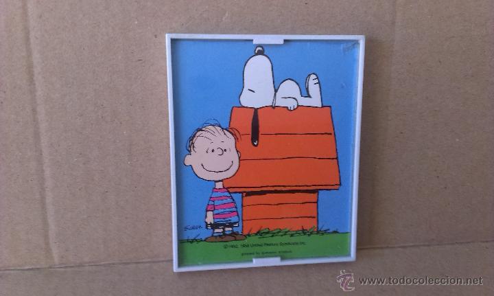 cuadro en miniatura con marco en pvc , snoopy ( - Comprar en ...