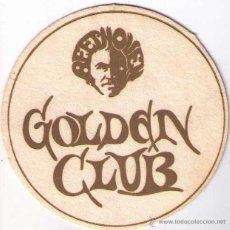 Coleccionismo: POSAVASOS GOLDEN CLUB BEETHOVEN 10 CM DIAMETRO ¿AÑOS 60/70?. Lote 50084864
