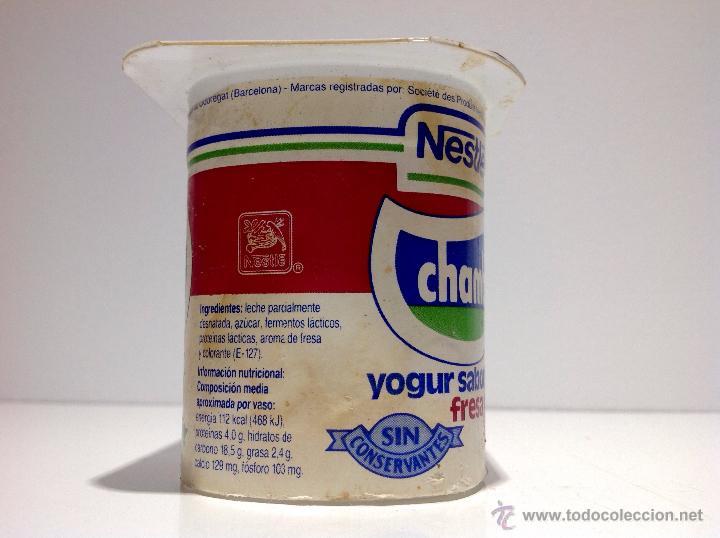 Antiguo envase vaso de yogurt chamburcy fre comprar - Vasos para yogurt ...