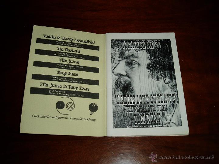 Coleccionismo: Manual del 11 Festival Folk de Cambridge Años 70 - Foto 3 - 50109694