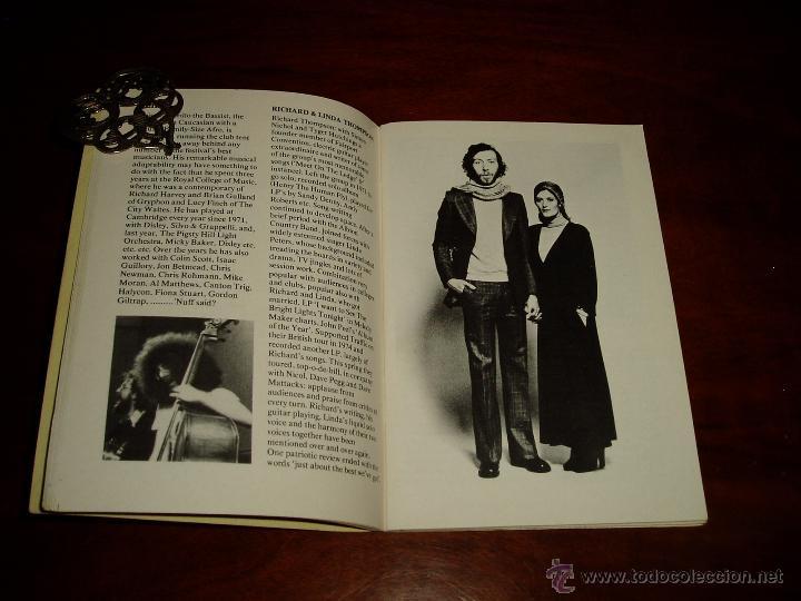 Coleccionismo: Manual del 11 Festival Folk de Cambridge Años 70 - Foto 5 - 50109694