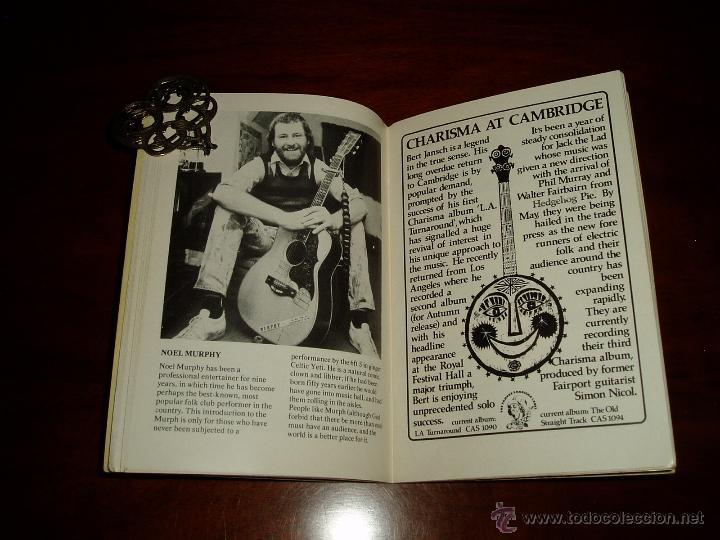 Coleccionismo: Manual del 11 Festival Folk de Cambridge Años 70 - Foto 6 - 50109694