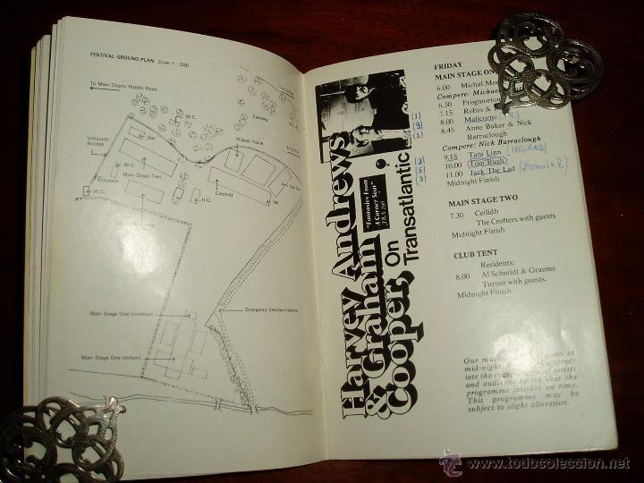 Coleccionismo: Manual del 11 Festival Folk de Cambridge Años 70 - Foto 7 - 50109694