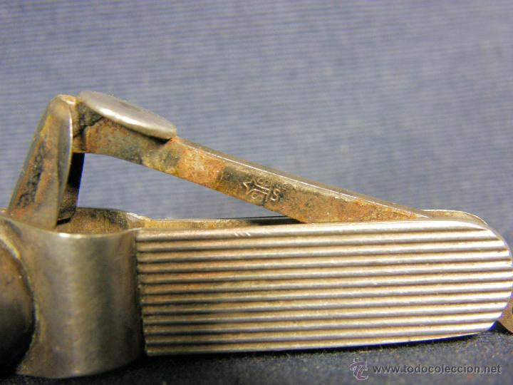 Coleccionismo: cortacigarrillos cortapuros plata sin marcas y acero primera mitad s XX - Foto 2 - 50129816