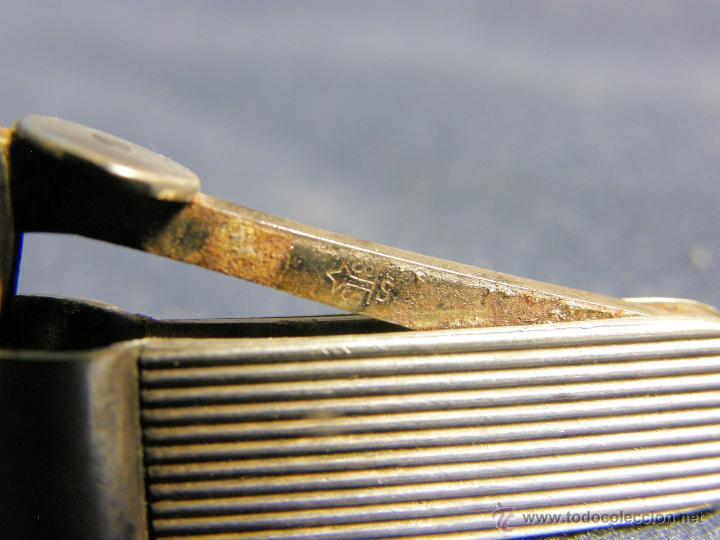 Coleccionismo: cortacigarrillos cortapuros plata sin marcas y acero primera mitad s XX - Foto 5 - 50129816